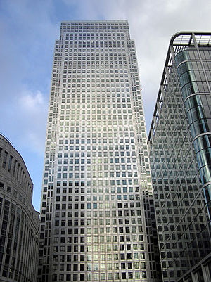 Olympia and York - One Canada Square, London