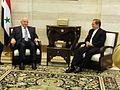 Canciller Patiño con Primer Ministro sirio (5535035491).jpg