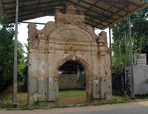 Ruins of Jaffna kingdom - Image: Cankilian Thoppu