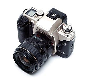 Canon EOS 50 - Image: Canon EOS 50e 1255