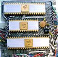 Canon Pocketronic IC's that contain the logic of the calculator 1970.jpg