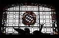 Cappella salviati, vetrata con stemma salviati.JPG