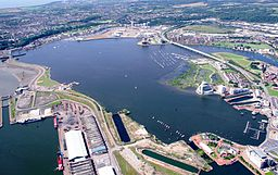 Cardiff Bay Aerial View.JPG
