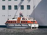 Caribbean Princess Lifeboat 18 Tallinn 10 August 2015.JPG