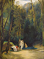 Carl Blechen - Woman Bathing in the Park of Terni - Google Art Project.jpg
