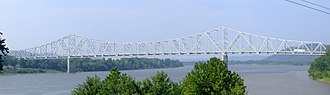 Carl Perkins Bridge - Image: Carl Perkins Bridge 1