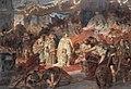 Carl Theodor von Piloty - Thusnelda Led in Germanicus' Triumph - WGA17766.jpg