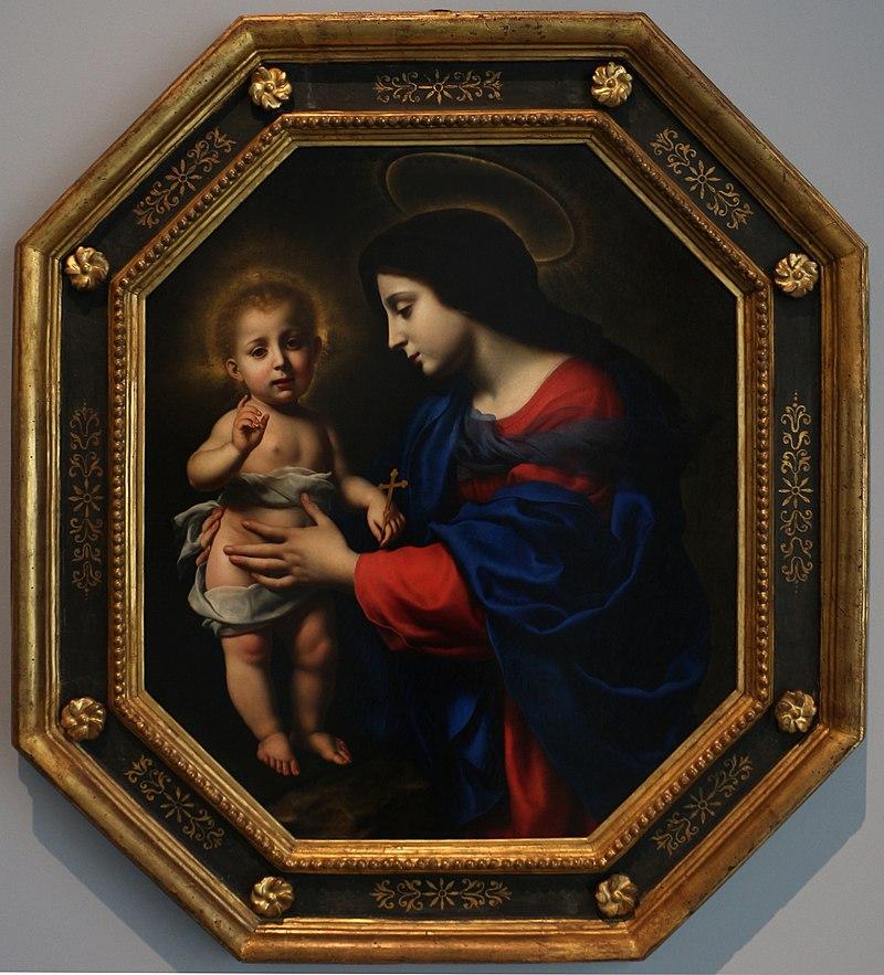 Карло дольчи, мадонна коль бамбино, 1651, 01.jpg