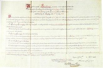 Carnegie Foundation (Netherlands) - Foundation charter of the Carnegie Foundation.