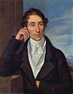 Caroline Bardua - Bildnis des Komponisten Carl Maria von Weber