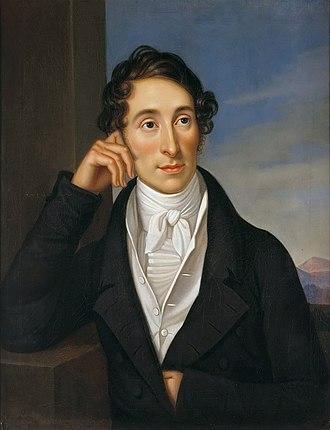 Eutin - Carl Maria von Weber in 1821