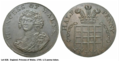 Caroline of Brunswick Princess of Wales Half Penny Token 1795.png