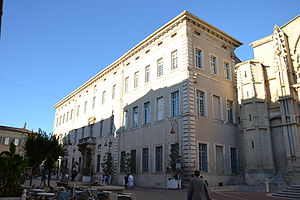 Ancient Diocese of Carpentras - Former episcopal palace, Palais de Justice