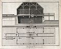 Carpentry; a water-driven saw-mill, long section and plan. E Wellcome V0023881.jpg