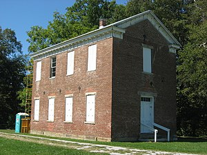 National Register of Historic Places listings in Jackson County, Indiana - Image: Carr High School