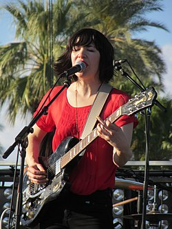 Carrie Brownstein of Wild Flag - outdoor stage Coachella 2012.jpg