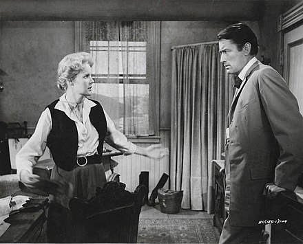 Carroll Baker and Peck in The Big Country Carroll Peck Big Country Promo.jpg