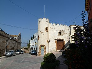 Bellvei - Image: Casa al carrer del Cementiri, 2, Bellvei a 1