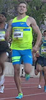Casimir Loxsom American middle-distance runner