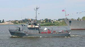 Yevgenya-class minesweeper - Image: Caspian boat 207