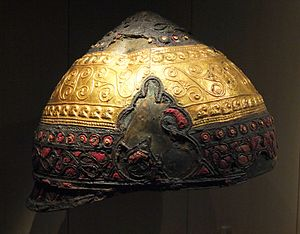 Agris Helmet - The Amfreville helmet, another Celtic prestige helmet from the Atlantic region.
