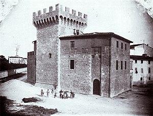 Montevarchi - The cassero, barracks of granducal Montevarchi's garrison.