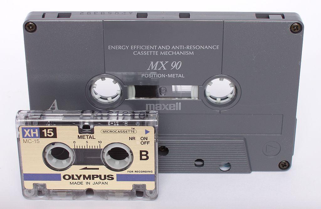 cassette audio mini cassette