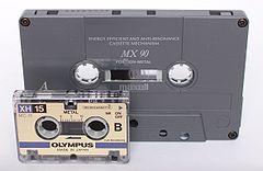Musicassetta e microcassetta a confronto