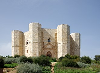 Southern Italy - Castel del Monte, built by Frederick II between 1240 and 1250 in Andria, Apulia.