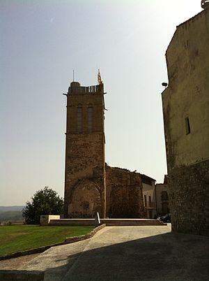 Froia (bishop of Vic) - Image: Castell d'Artés setembre 2011 2
