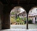 Castiglione olona, palazzo branda, esterno, loggia sul giardino 00.jpg