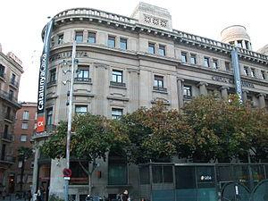 CatalunyaCaixa - CatalunyaCaixa headquarters in Barcelona
