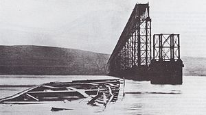 1879 in Scotland - Tay Bridge disaster