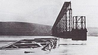 1879 in Scotland - Tay Bridge disaster