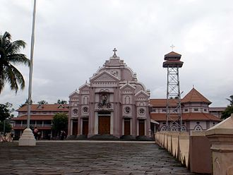 Syro-Malabar Catholic Eparchy of Irinjalakuda - Image: Cathedral ijk