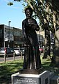 Catherine Booth statue Mile End Road.JPG