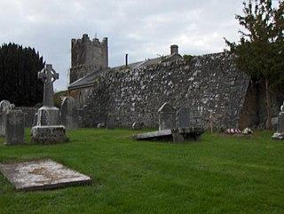 Terryglass Village in Munster, Ireland