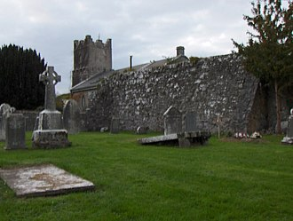 Terryglass - Image: Cemetery of Terryglass geograph.org.uk 648248