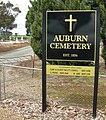 Cemetery sign, Auburn.JPG