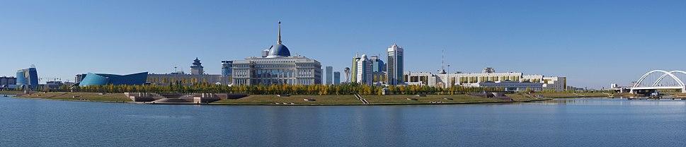 Central Downtown Astana pamorama