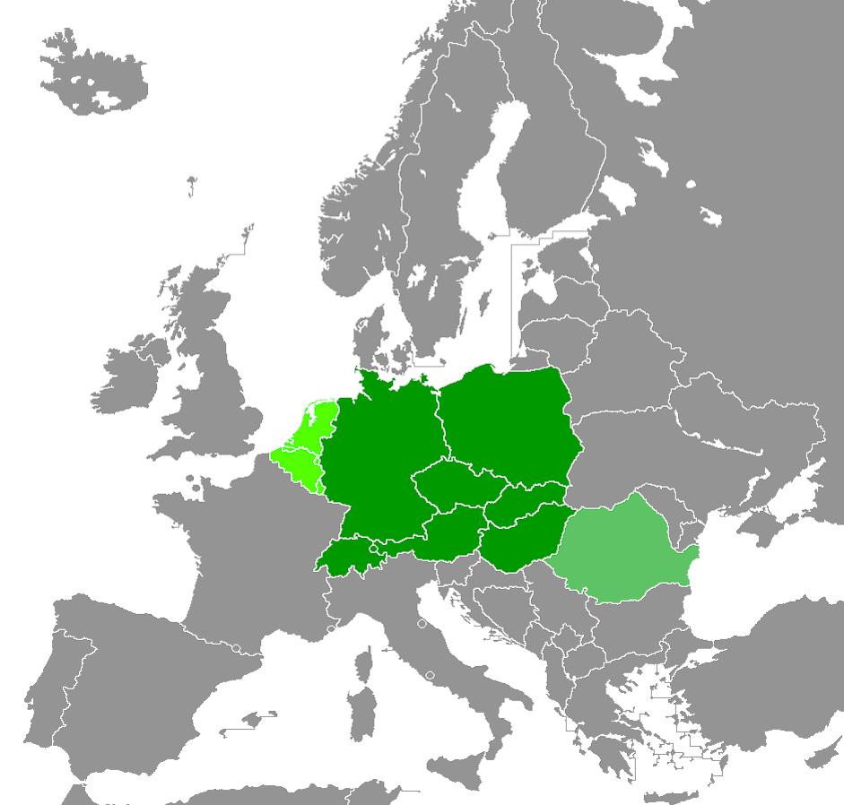 Central Europe (Meyers Grosses Taschenlexikon)