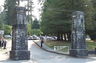 urban park in Burnaby, British Columbia
