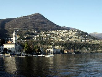 Cernobbio - Panorama of Cernobbio