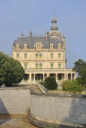 Pierre Bardou-Job - Château d'Aubiry. built for Joseph Bardou