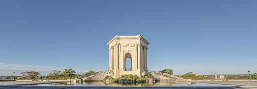 Château d'eau du Peyrou, Montpellier 04.jpg