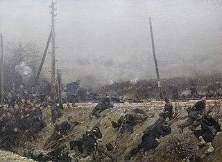 Combat sur la voie ferrée (armée de la Loire)
