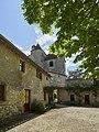 Château de Montaigne - tower - view from courtyard (26860062571).jpg
