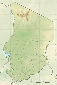 Emi Koussi is locatit in Chad
