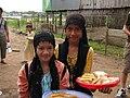 Cham kids selling waffles.jpg
