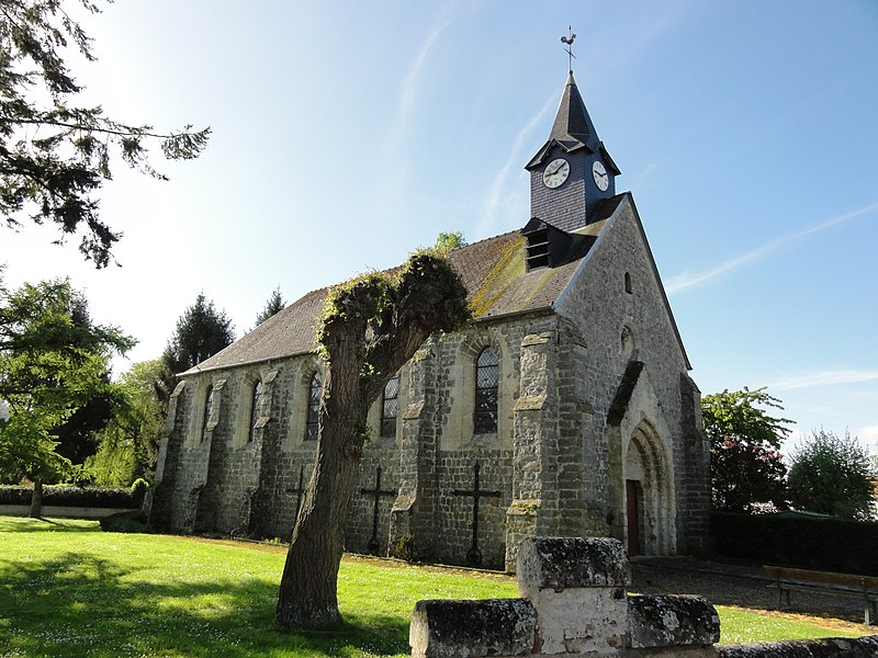 Chambry (Aisne) église